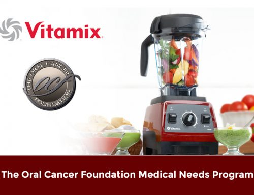 Vitamix and The Oral Cancer Foundation