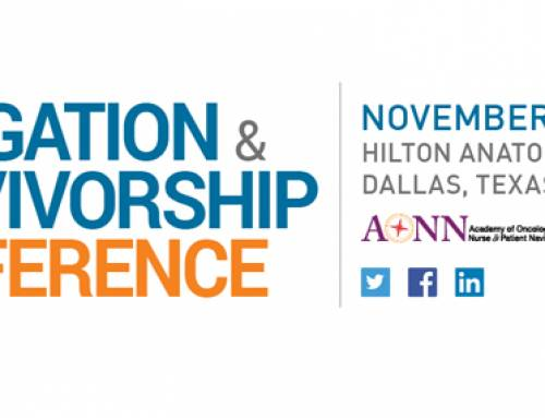 Academy of Ancology Nurse & Patient Navigators November 15-18